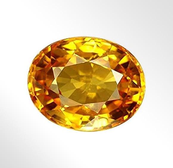 Pukhraj or Yellow Sapphire Gemstone